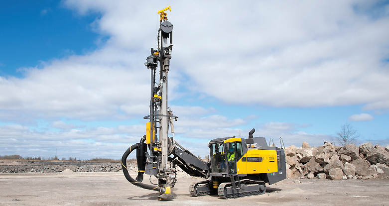 Atlas Copco - FlexiROC D65 Track Drills