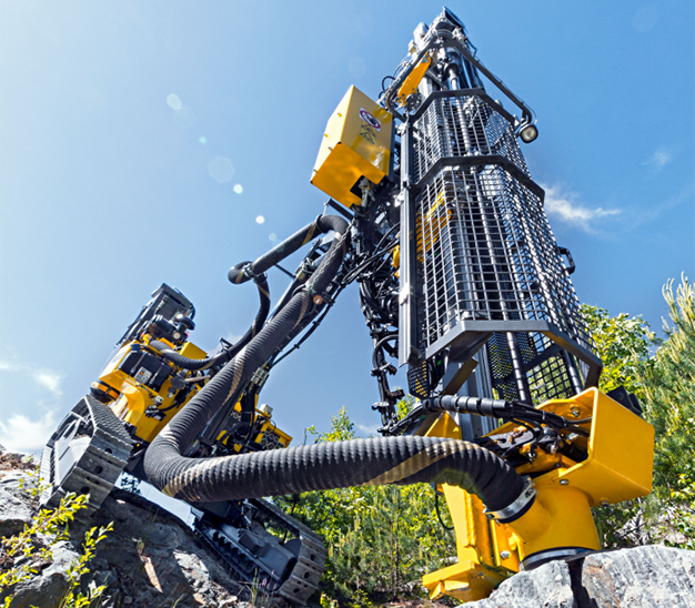 Atlas Copco - FlexiROC T30 R Construction Edition Track Drills