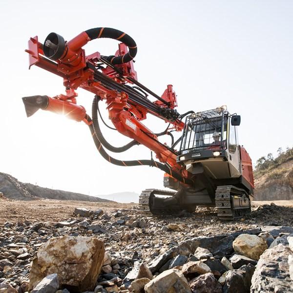 Sandvik - Tiger DG800 Track Drills