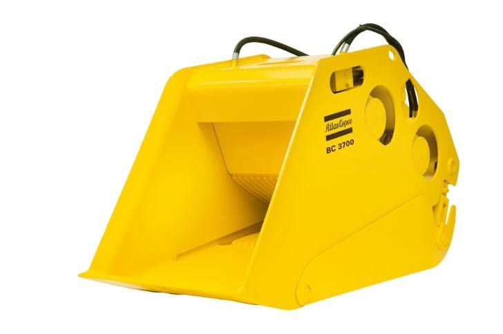 BC 3700 bucket crusher.