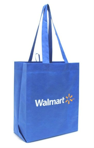 Feb. 9, 2016,  Walmart will offer reusable bags and will implement a plastic bag fee to reduce plastic waste.