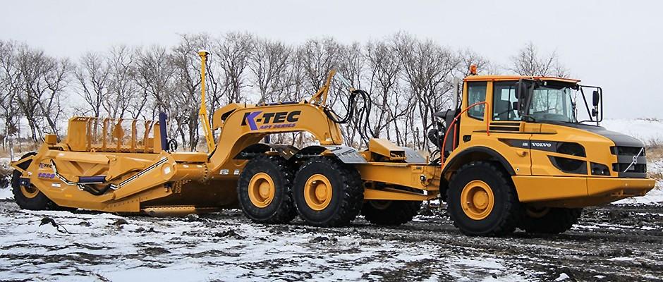 K-Tec Earthmovers Inc. - 1228 ADT Scrapers