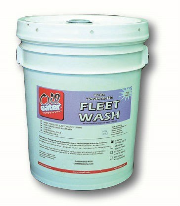Oil Eater Fleet Wash enivonmentally safe way to clean trucks and equipment