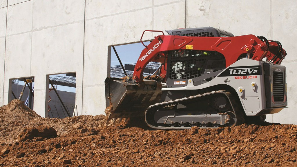 Takeuchi adds vertical lift model to compact track loader lineup