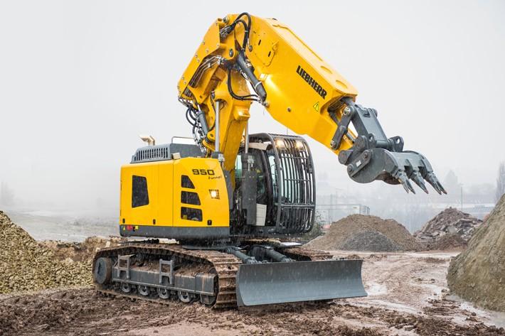 Liebherr Canada - R 950 Excavators