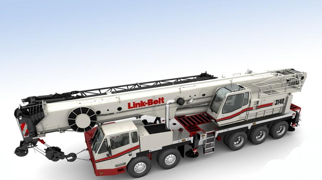 Link-Belt Construction Equipment Company - HTC-3140 LB Truck Mounted Cranes