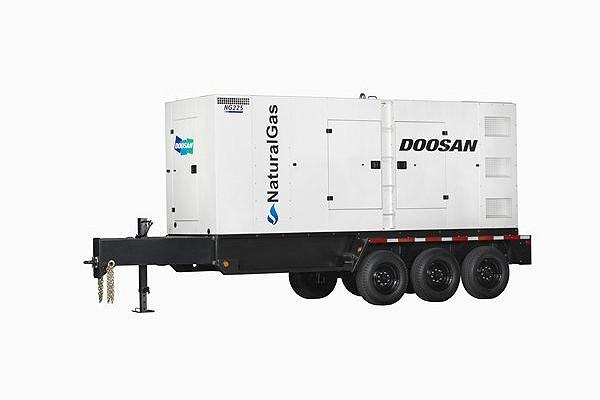 Doosan Portable Power - NG225 Generators