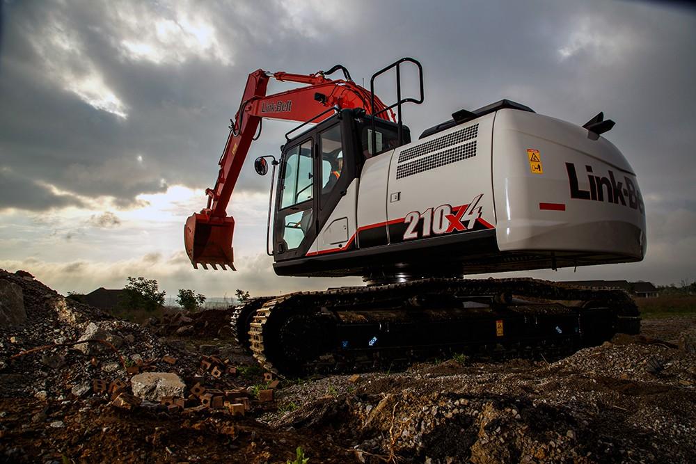Link-Belt Construction Equipment Company - 210 X4 Excavators