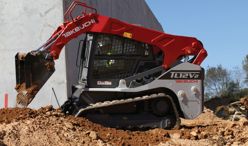 Takeuchi - TL12V2 Compact Track Loaders