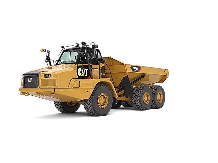 Caterpillar Inc. - 725C (Tier 4, Stage IV) Articulated Dump Trucks