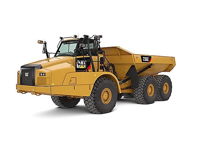 Caterpillar Inc. - 735C Articulated Dump Trucks