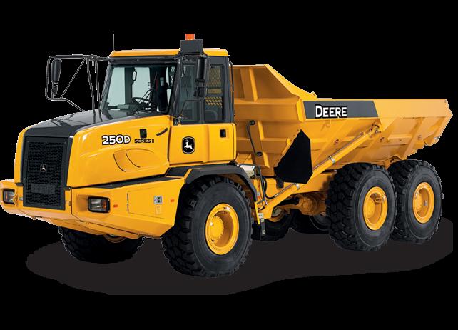 John Deere Construction & Forestry - 250D-II Articulated Dump Trucks