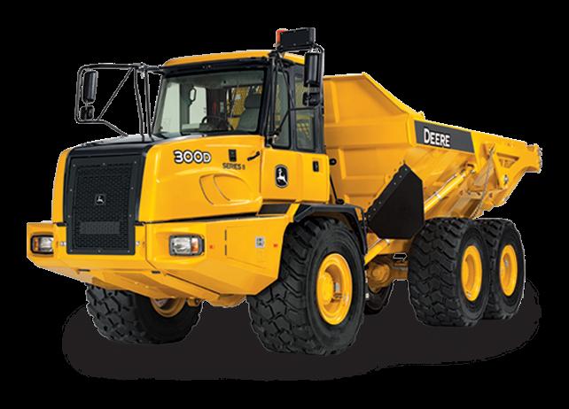 John Deere Construction & Forestry - 300D-II Articulated Dump Trucks