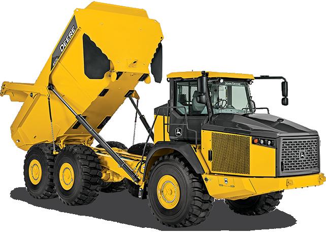 John Deere Construction & Forestry - 410E Articulated Dump Trucks