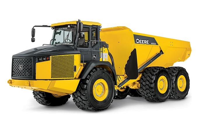John Deere Construction & Forestry - 460E Articulated Dump Trucks