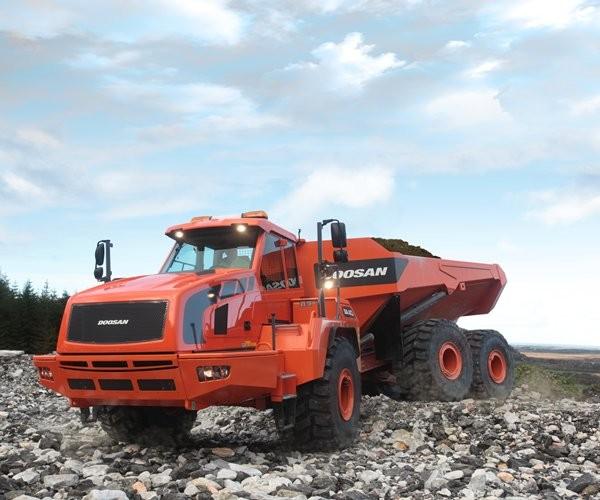 Doosan Infracore North America LLC - DA40-5 Articulated Dump Trucks