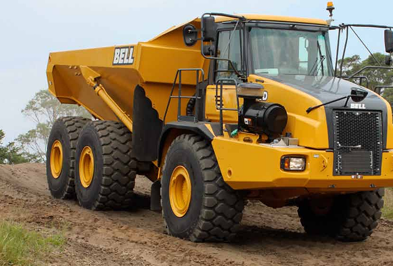 Bell Equipment (North America) - B35D Articulated Dump Trucks