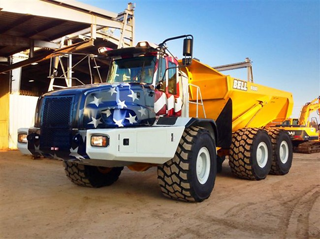 Bell Equipment (North America) - B50D Articulated Dump Trucks