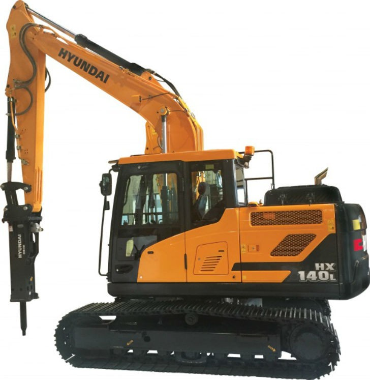 Hyundai expands HX Series excavator product line with new