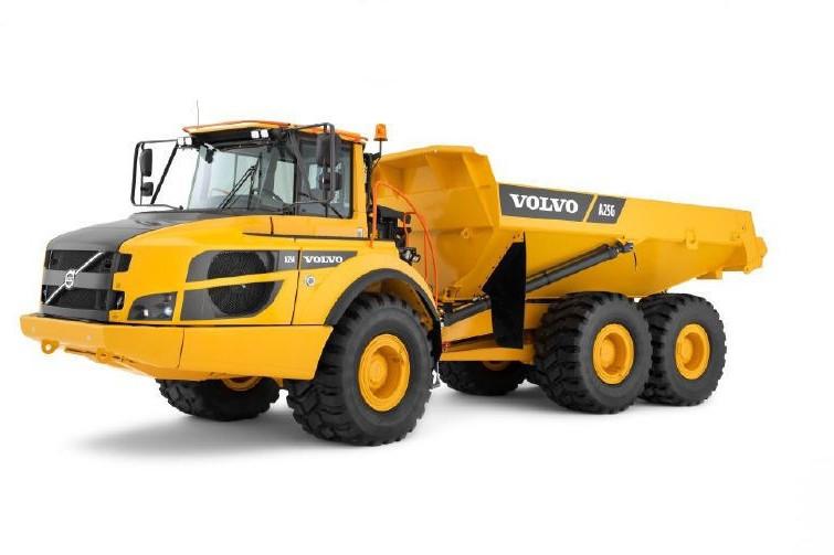 Volvo Construction Equipment - A25G Articulated Dump Trucks