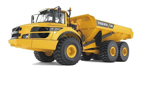 Volvo Construction Equipment - A35G Articulated Dump Trucks