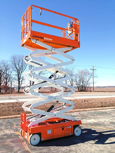 Snorkel - S3220E Scissor Lifts