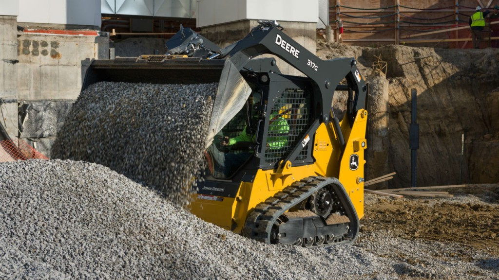317G compact track loader.