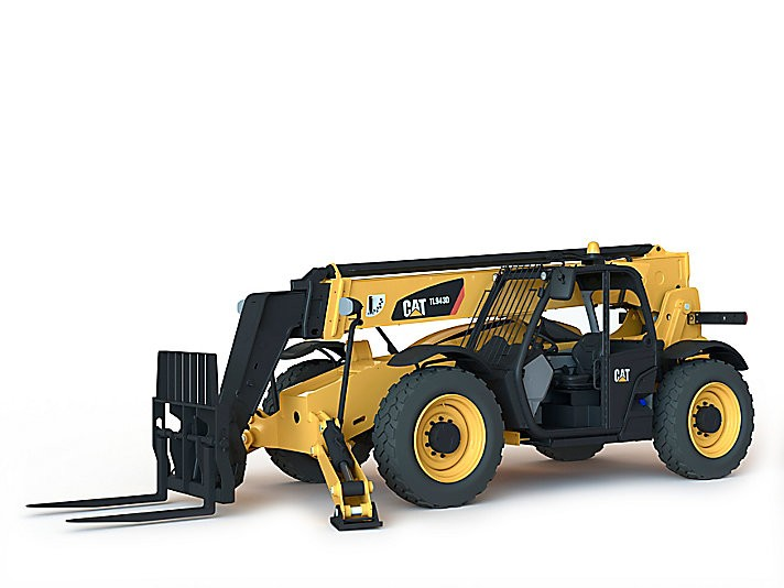 Caterpillar Inc. - TL943D With Stabilizers Telehandlers