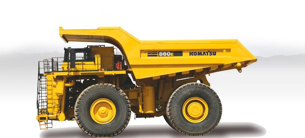 Komatsu America Corp. - 860E-1K Rigid Haulers