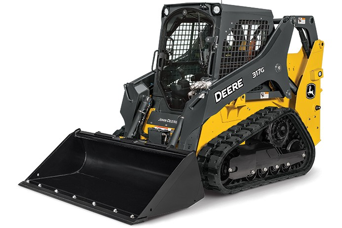 John Deere Construction & Forestry - 317G Compact Track Loaders