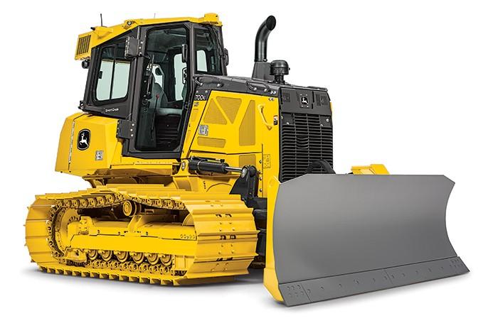 John Deere Construction & Forestry - 700K SmartGrade Crawler Dozers
