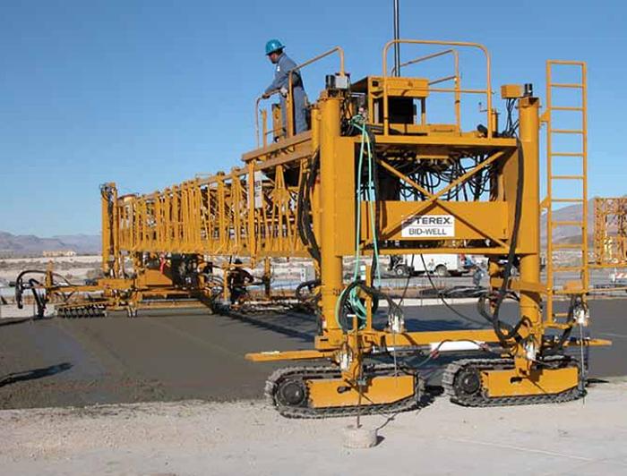 Terex Corporation - Bid-Well 3600 Concrete Pavers