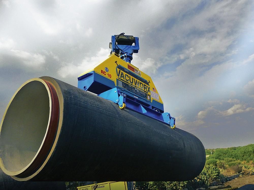 Vacuworx - RC 10 Hydraulic Lifting Systems