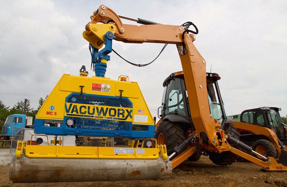 Vacuworx - MC 5 Hydraulic Lifting Systems
