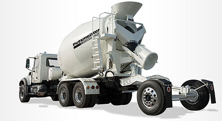 Putzmeister America Inc. - Bridge Maxx 10.5 Concrete Mixer Trucks