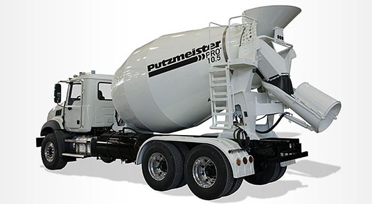 Putzmeister America Inc. - Pro 10.5 Concrete Mixer Trucks