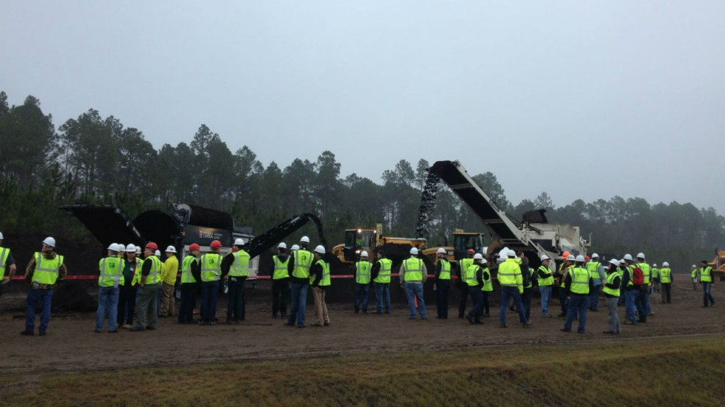 Terex Environmental Equipment at the Compost 2016 Equipment Show.