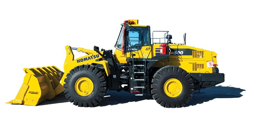 Komatsu America Corp. - WA500-7 Wheel Loaders