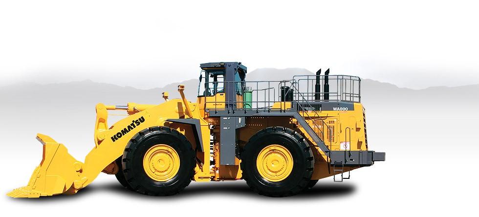 Komatsu America Corp. - WA800-3 Wheel Loaders