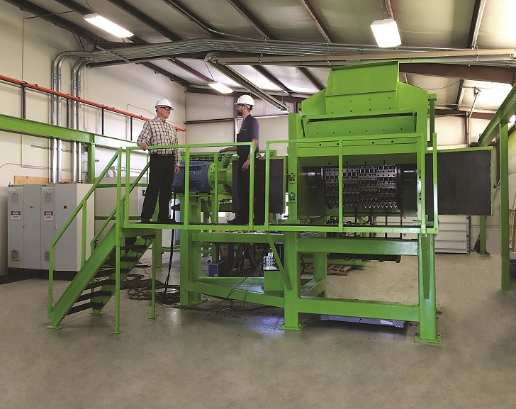 """The ECO Grater is the latest technology is ideal for processing primary shreds smaller than 150 mm (6"""" inches)."""