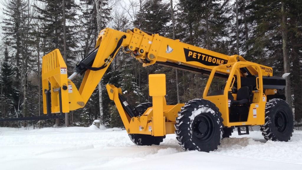 Pettibone hits peak lift height with Extendo 1157B
