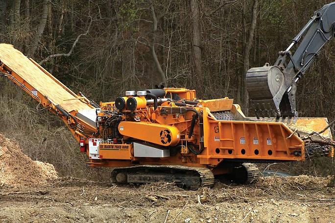 Continental Biomass Industries, Inc. - CBI 6800BT Horizontal Grinders