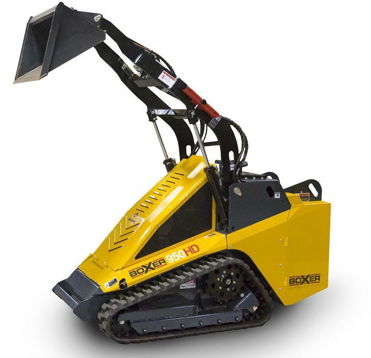 Boxer will introduce its largest and most advanced compact utility loader, the 950HD at The Rental Show from February 21-24, 2016.
