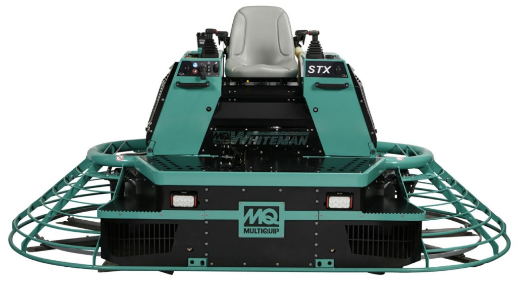 The MQ Whiteman STX6H-Series is available with optional MQ Link telematics system.