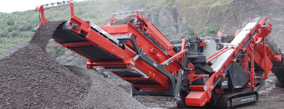 Sandvik - QH331 Track Mounted Cone Crushers