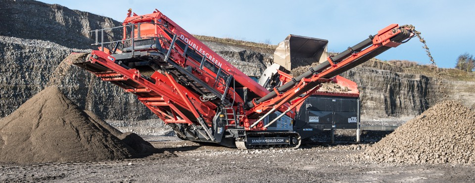 Sandvik - QA335 Track Mounted Screens