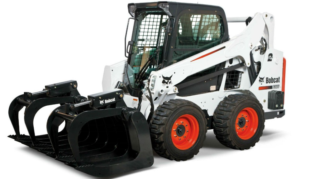 The Bobcat S595 skid-steer loader has the highest rated operating capacity (ROC)