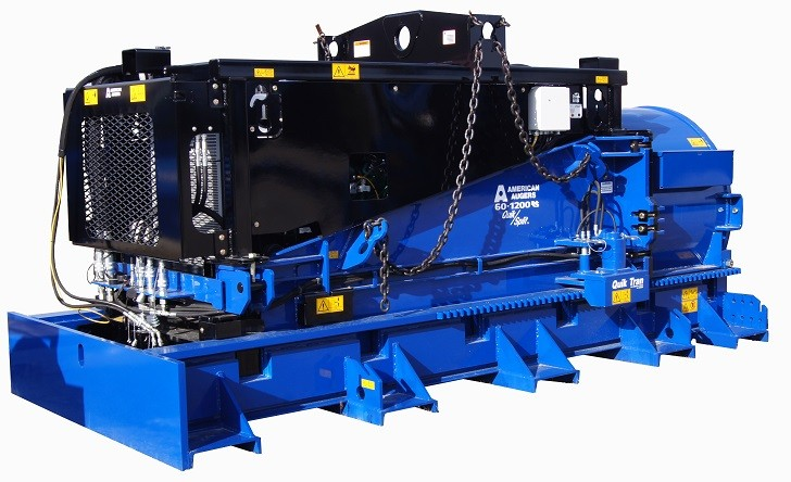 The 60-1200 auger boring machine features a Tier 4 Final engine.