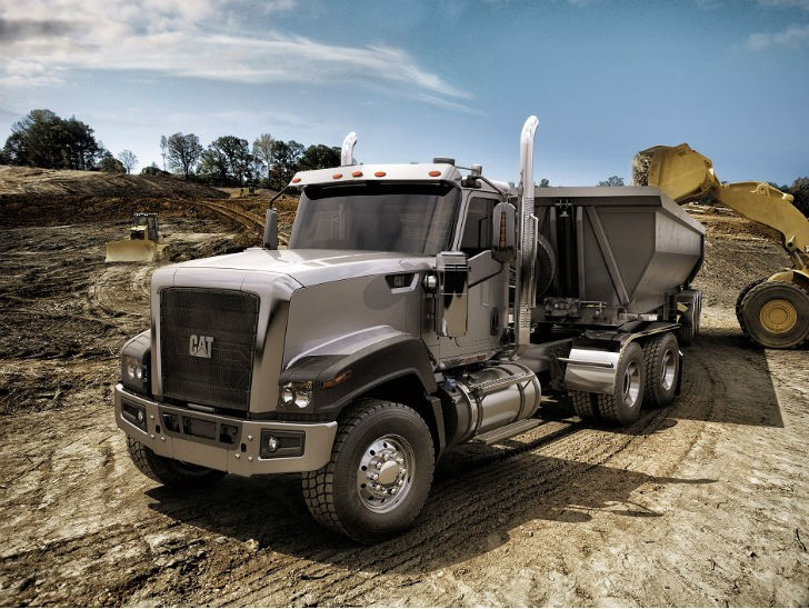 Caterpillar to end production of on-highway vocational trucks