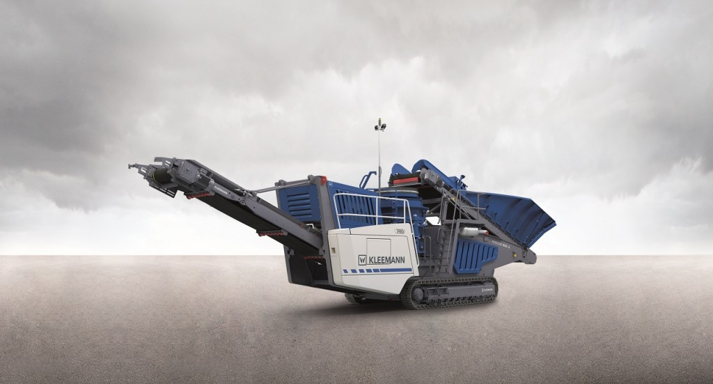 With the MOBICONE MCO 11 PRO,  Kleemann heralds a new generation of mobile quarry plants.